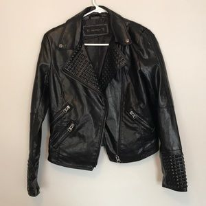 Jackets & Blazers - Black motorcycle jacket